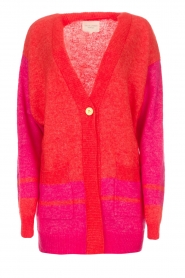 Lolly's Laundry | Fel gekleurd vest Carrie | rood  | Afbeelding 1