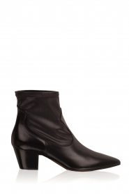 Leather ankle boots Liz | black