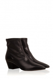 L'Autre Chose |  Leather ankle boots Liz | black  | Picture 3