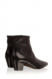 L'Autre Chose |  Leather ankle boots Liz | black  | Picture 4