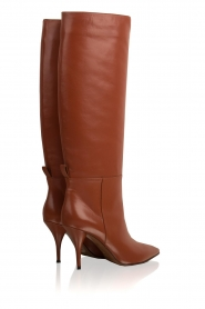 L'Autre Chose |  Leather boots Solena | camel  | Picture 5