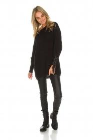 Dante 6 | Lange trui Cooper | zwart  | Afbeelding 3