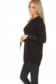 Dante 6 | Lange trui Cooper | zwart  | Afbeelding 4