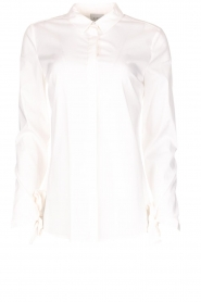 Dante 6 |  Blouse with bows Brooke | white  | Picture 1