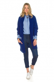 Dante 6 |  Blouse with bows Brooke | blue  | Picture 3