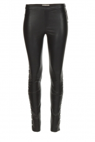 Dante 6 |  Leather legging Rockstar | black  | Picture 1