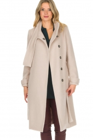 Dante 6 |  Wool coat Griffin | natural  | Picture 5