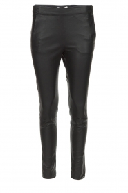 Dante 6 |  Leather pants Lebon | black  | Picture 1