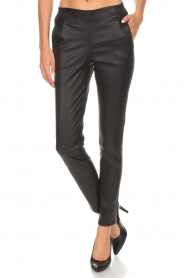 Dante 6 |  Leather pants Lebon | black  | Picture 3