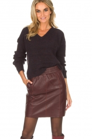 Dante 6 |  Skirt Eshvi | bordeaux   | Picture 2