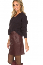 Dante 6 |  Skirt Eshvi | bordeaux   | Picture 4