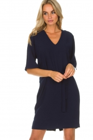 Dante 6 |  Dress with slit in the sleeves Stello | blue  | Picture 2