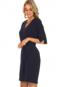 Dante 6 |  Dress with slit in the sleeves Stello | blue  | Picture 6
