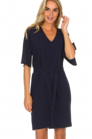 Dante 6 |  Dress with slit in the sleeves Stello | blue  | Picture 4