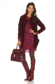 Dante 6 |  Long cardigan Prince | bordeaux  | Picture 3