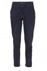 Dante 6 | Suède broek Moji | blauw  | Afbeelding 1