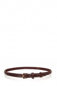 Dante 6 |  Leather belt Golda | bordeaux  | Picture 1