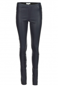 Dante 6 |  Leather leggings Campbell | blue  | Picture 1
