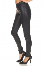 Dante 6 |  Leather leggings Campbell | blue  | Picture 4