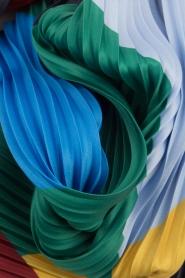 Becksöndergaard | Geplisseerde sjaal Asaka | mutli  | Afbeelding 3