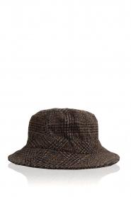 Becksöndergaard |  Bucket hat Check | grey  | Picture 1