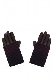 Becksöndergaard | Leren handschoen Mirral | blauw  | Afbeelding 1