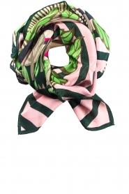 Becksöndergaard | Zijden sjaal Adisa | roze  | Afbeelding 1