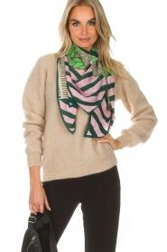 Becksöndergaard |  Silk scarf Adisa | pink  | Picture 2