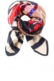 Becksöndergaard |  Silk scarf Adisa | blue  | Picture 1