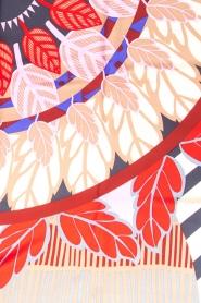 Becksöndergaard | Zijden sjaal Adisa | blauw  | Afbeelding 4