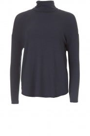 Blaumax |  Turtleneck top Ilona | blue  | Picture 1