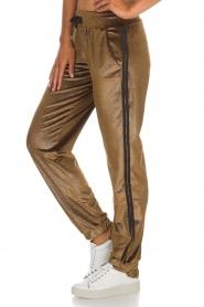Blaumax |  Velvet pants Mori | brown  | Picture 4