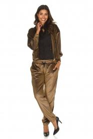 Blaumax |  Velvet pants Mori | brown  | Picture 7
