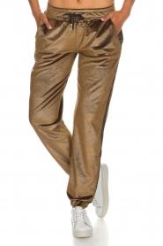 Blaumax |  Velvet pants Mori | brown  | Picture 2
