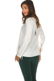 Blaumax |  Silk top Lorena | natural  | Picture 5
