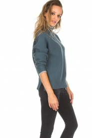 BLAUMAX |  Sweater Gloria | blue  | Picture 4