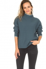 BLAUMAX |  Sweater Gloria | blue  | Picture 2