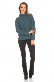 BLAUMAX |  Sweater Gloria | blue  | Picture 3