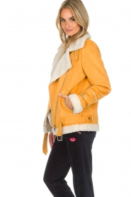 OAKWOOD |  Faux lammy coat Mandy | yellow  | Picture 4