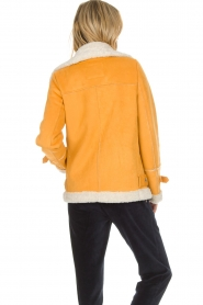 OAKWOOD |  Faux lammy coat Mandy | yellow  | Picture 5