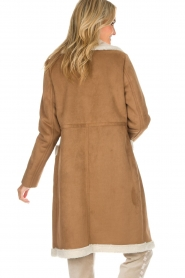 OAKWOOD |  Faux lammy coat Annelies | brown  | Picture 5