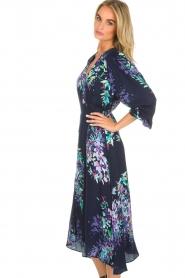 Hale Bob |  Wrap dress Yael | blue  | Picture 5