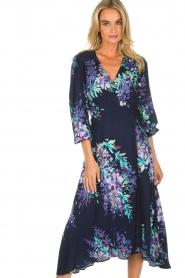 Hale Bob |  Wrap dress Yael | blue  | Picture 4