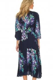 Hale Bob |  Wrap dress Yael | blue  | Picture 6