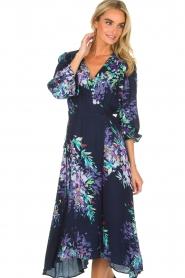 Hale Bob |  Wrap dress Yael | blue  | Picture 2