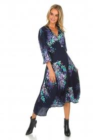 Hale Bob |  Wrap dress Yael | blue  | Picture 3