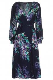 Hale Bob |  Wrap dress Yael | blue  | Picture 1