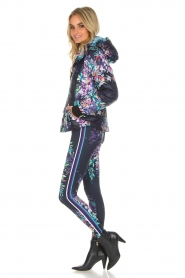 Hale Bob |  Floral printed leggings Eveline | blue  | Picture 6