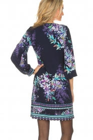 Hale Bob |  Dress with floral print Ruth | blue  | Picture 5