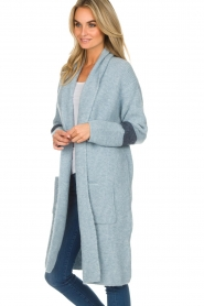 Be Pure |  Cardigan Telle | blue  | Picture 4